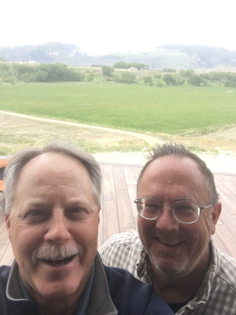 Morgan Renner and Doug Gail